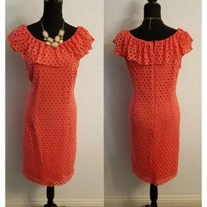 Dressbarn Dress Plus Size 14